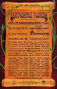 Earthdance FL flyer